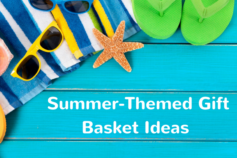 summer themed gift basket ideas to enjoy with friends and family