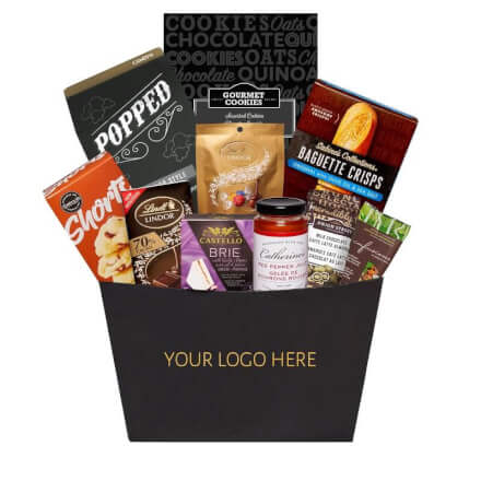Customized Corporate Logo Basket