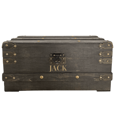 Large Engraved Treasure Chest