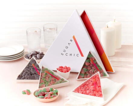 Sugar Chic Fruitty Tuitty Triangles