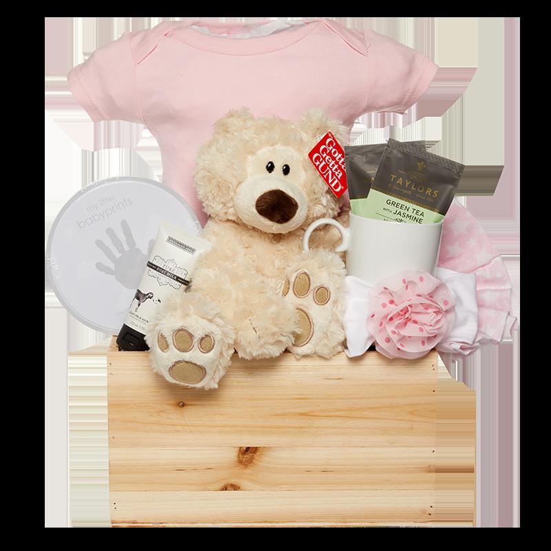 Baby Bear Necessities Pink