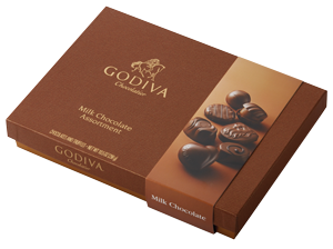 Godiva Milk Chocolate Assortment 36pcs