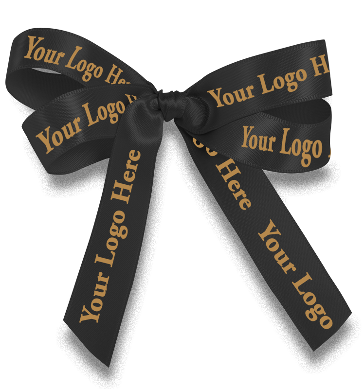 Customized Corporate Logo Ribbon