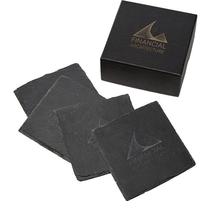 Customized Slate Coasters