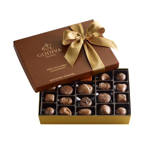 Godiva Milk Chocolate Assortment 19pcs