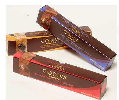 Godiva Truffle Flights 3-Pack