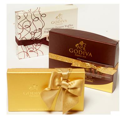 Godiva Dessert 3-Pack