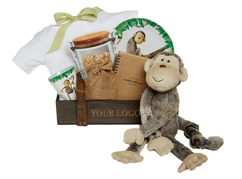 Munchy Monkey with Logo