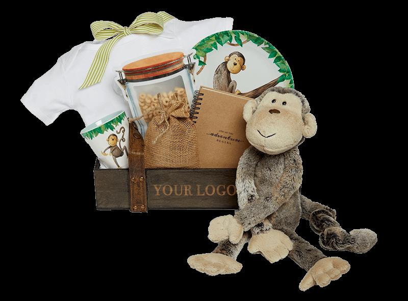 Munchy Monkey with Logo