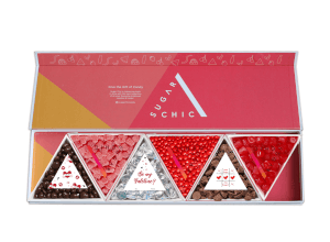 My Valentine Sugar Chic Triangles