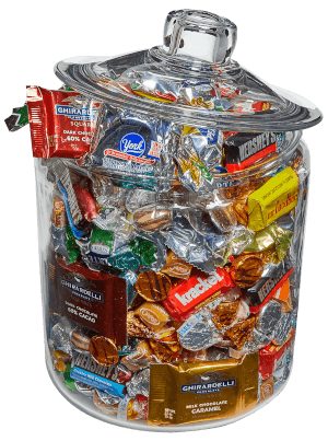 Grand Glass Candy Jar
